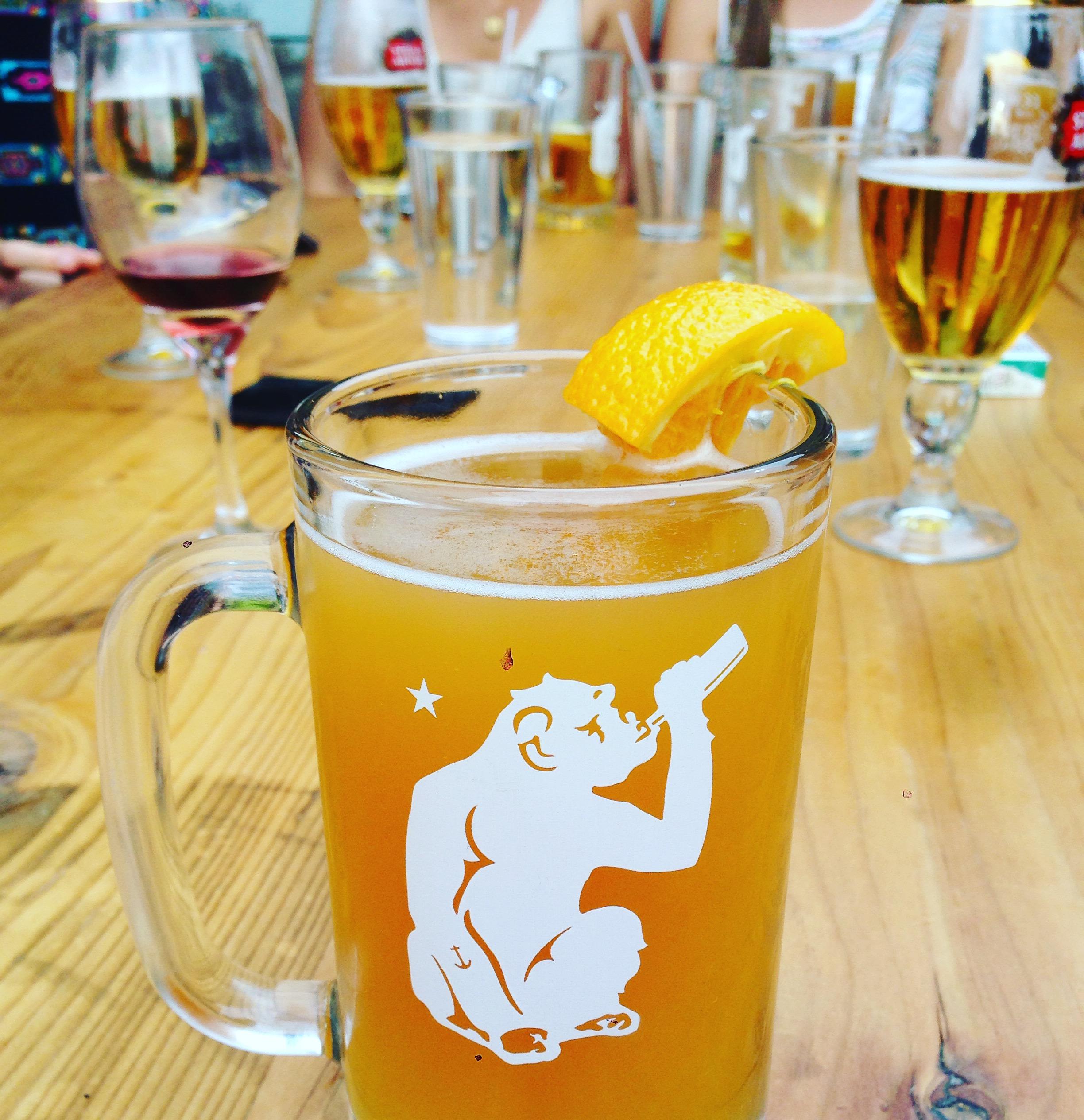 Blue Moon, mijn favo biertje bij Brass Monkey
