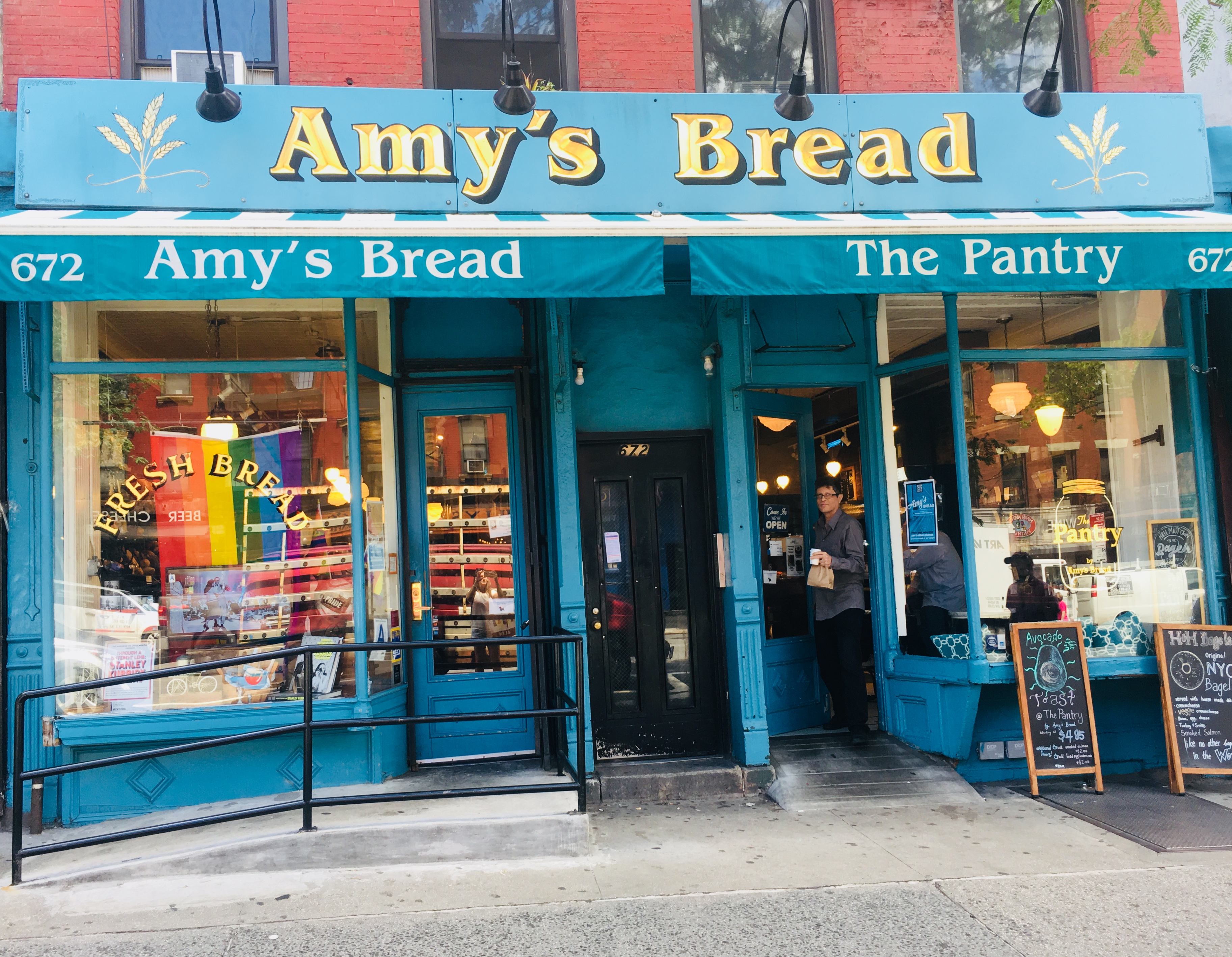 20-Something bij Amy's Bread in New York