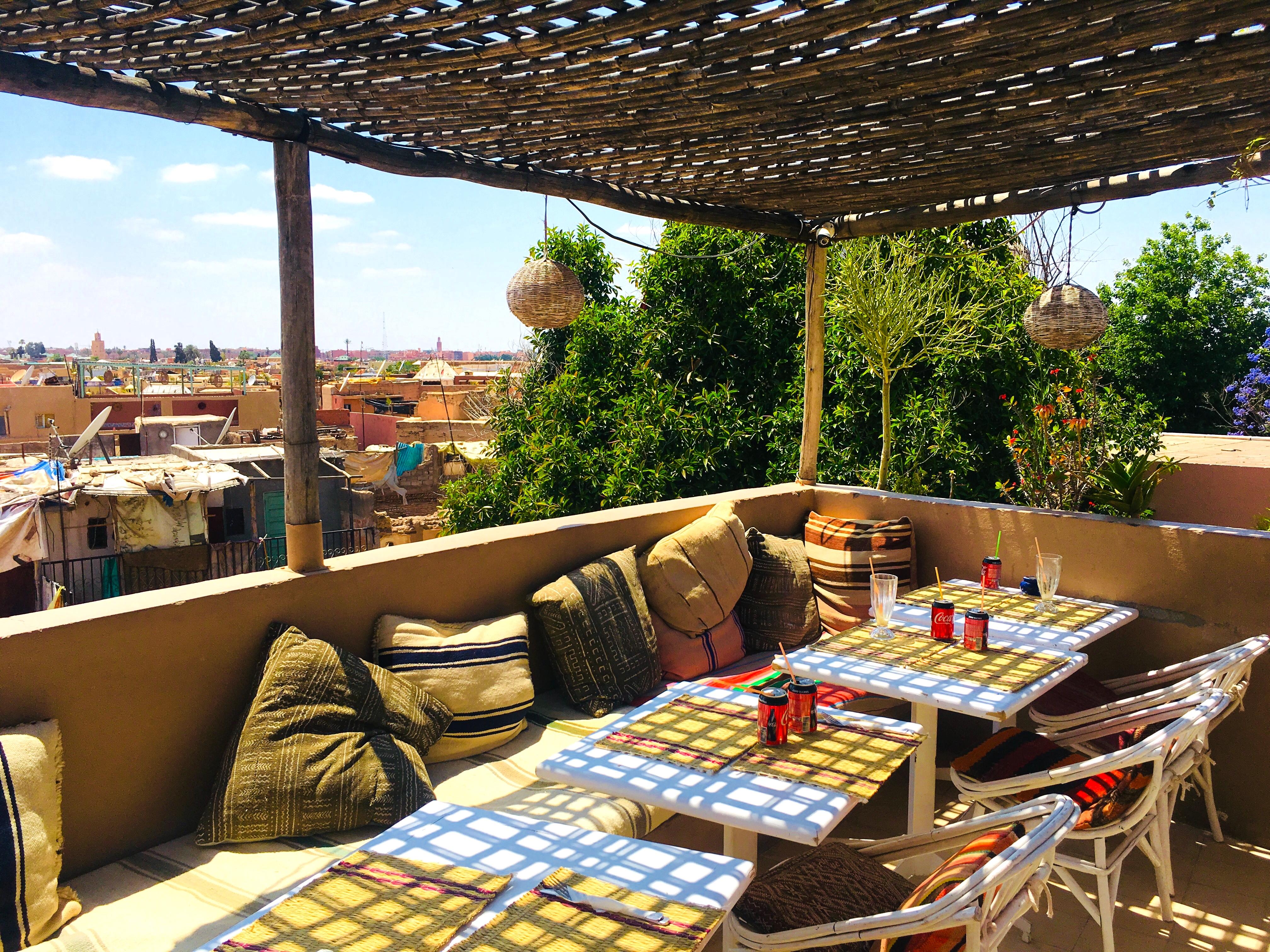 Atay Food Café in Marrakech