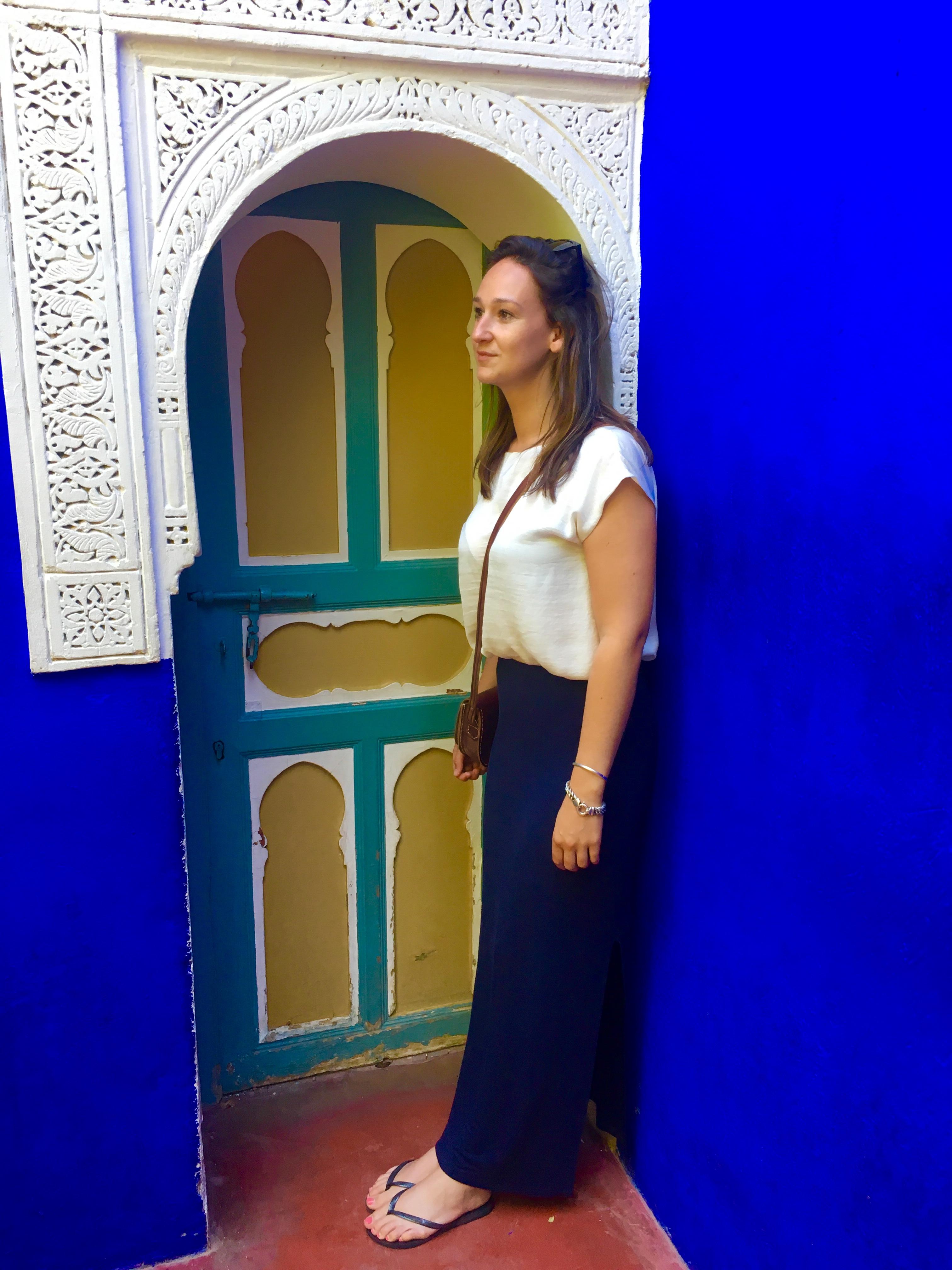Majorelle tuinen Marrakech
