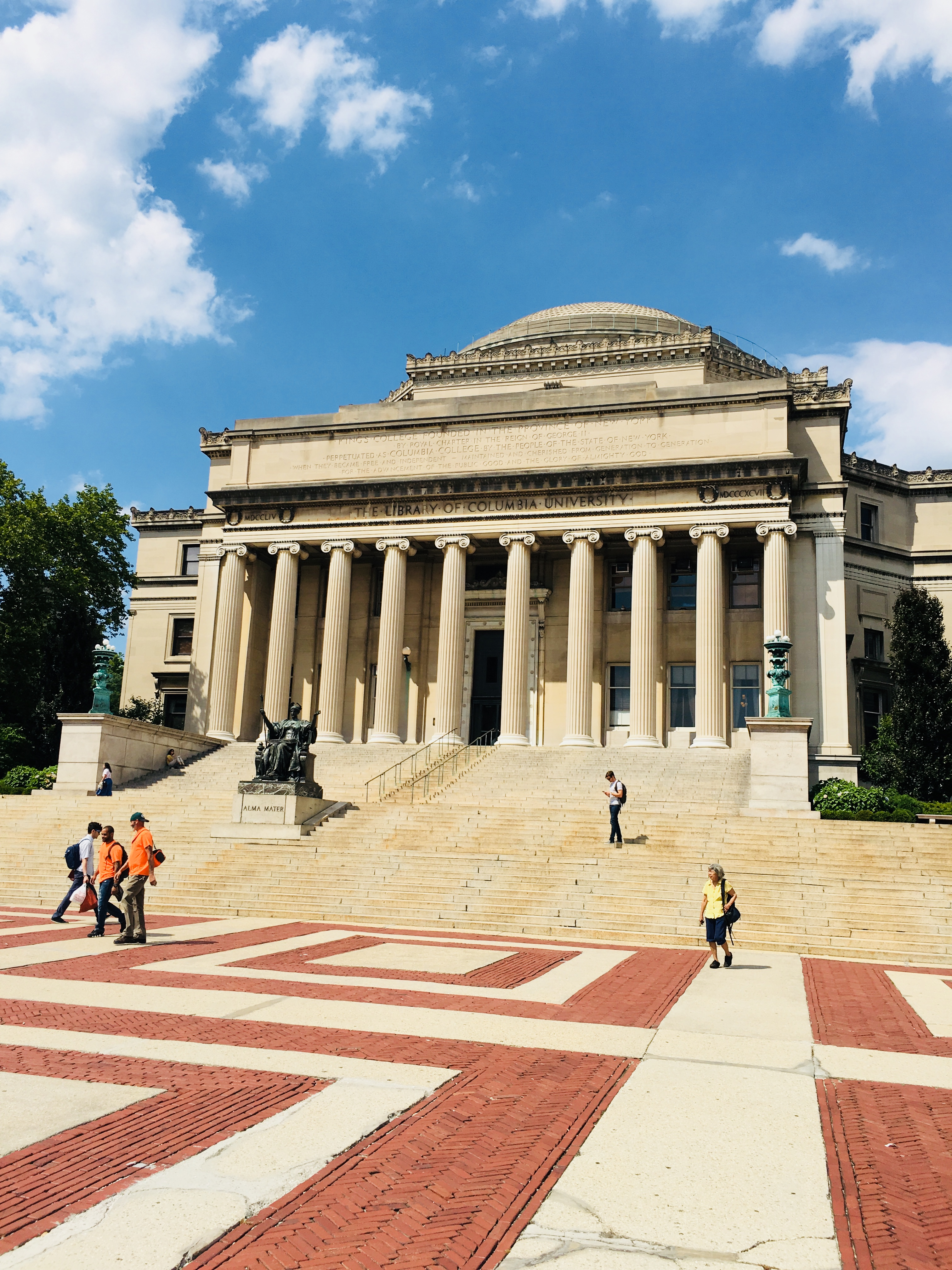 Columbia University aan de Upper West Side