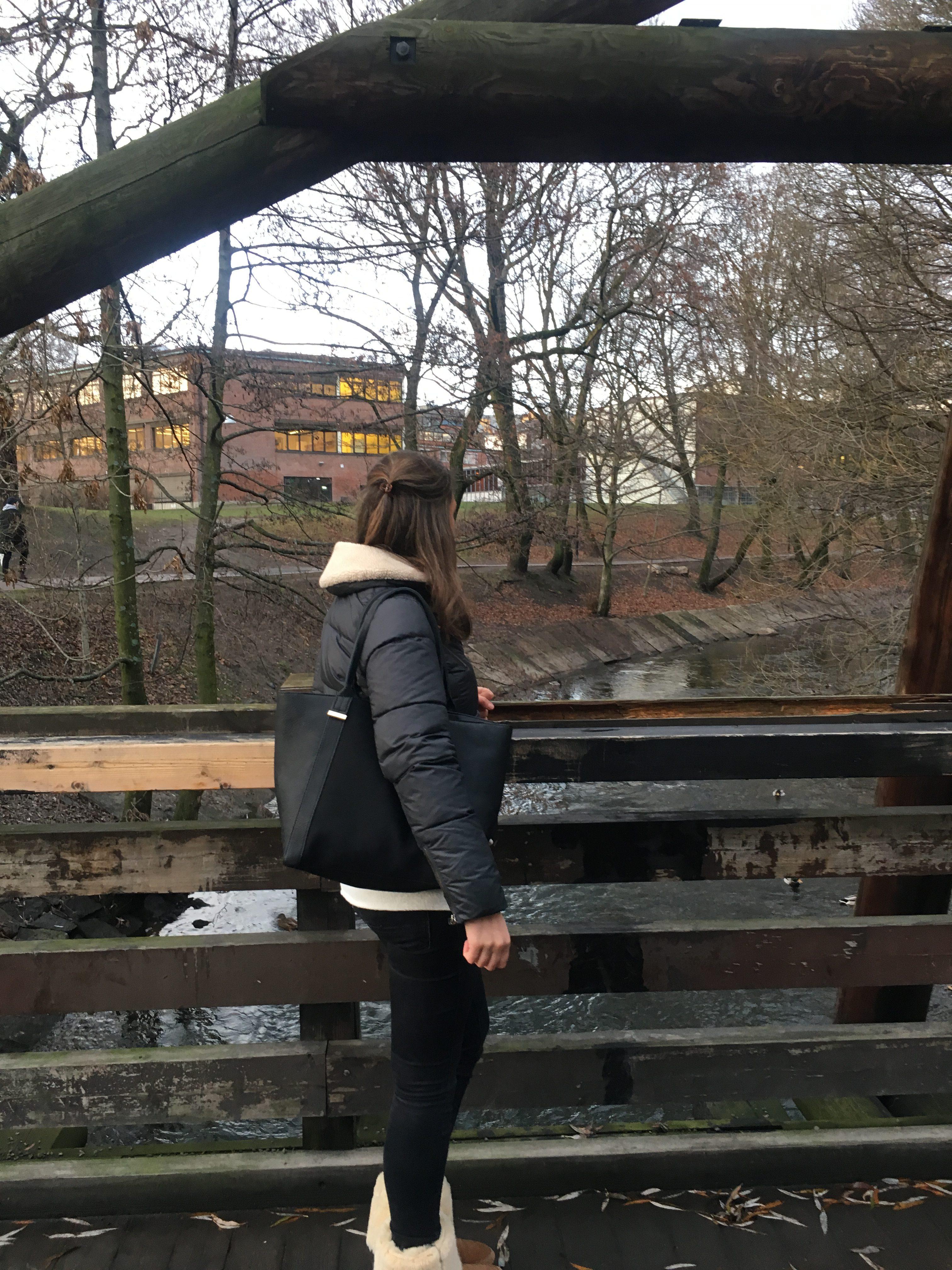 Wandelen langs de Akerselva rivier