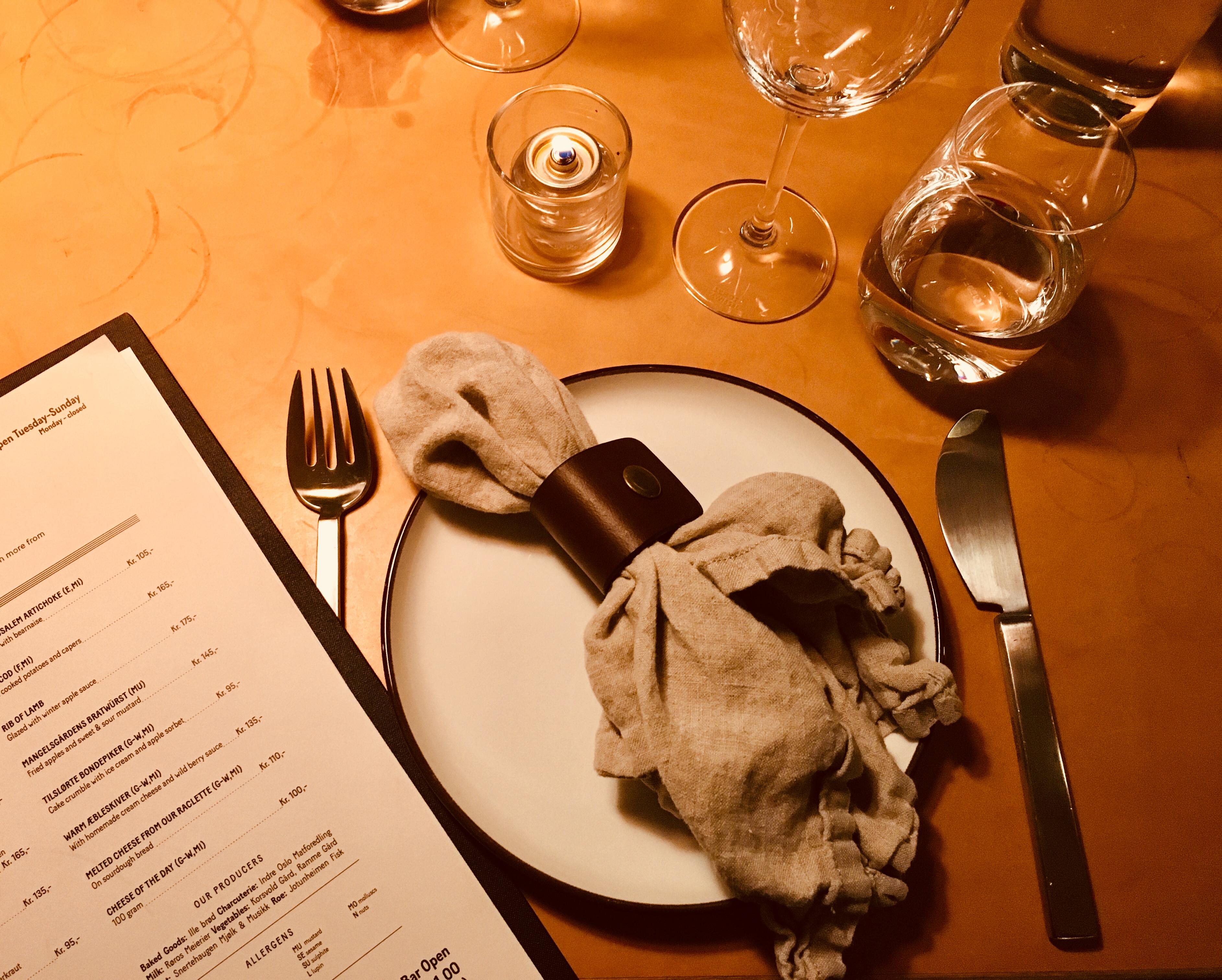 mangelsgården restaurant in Oslo