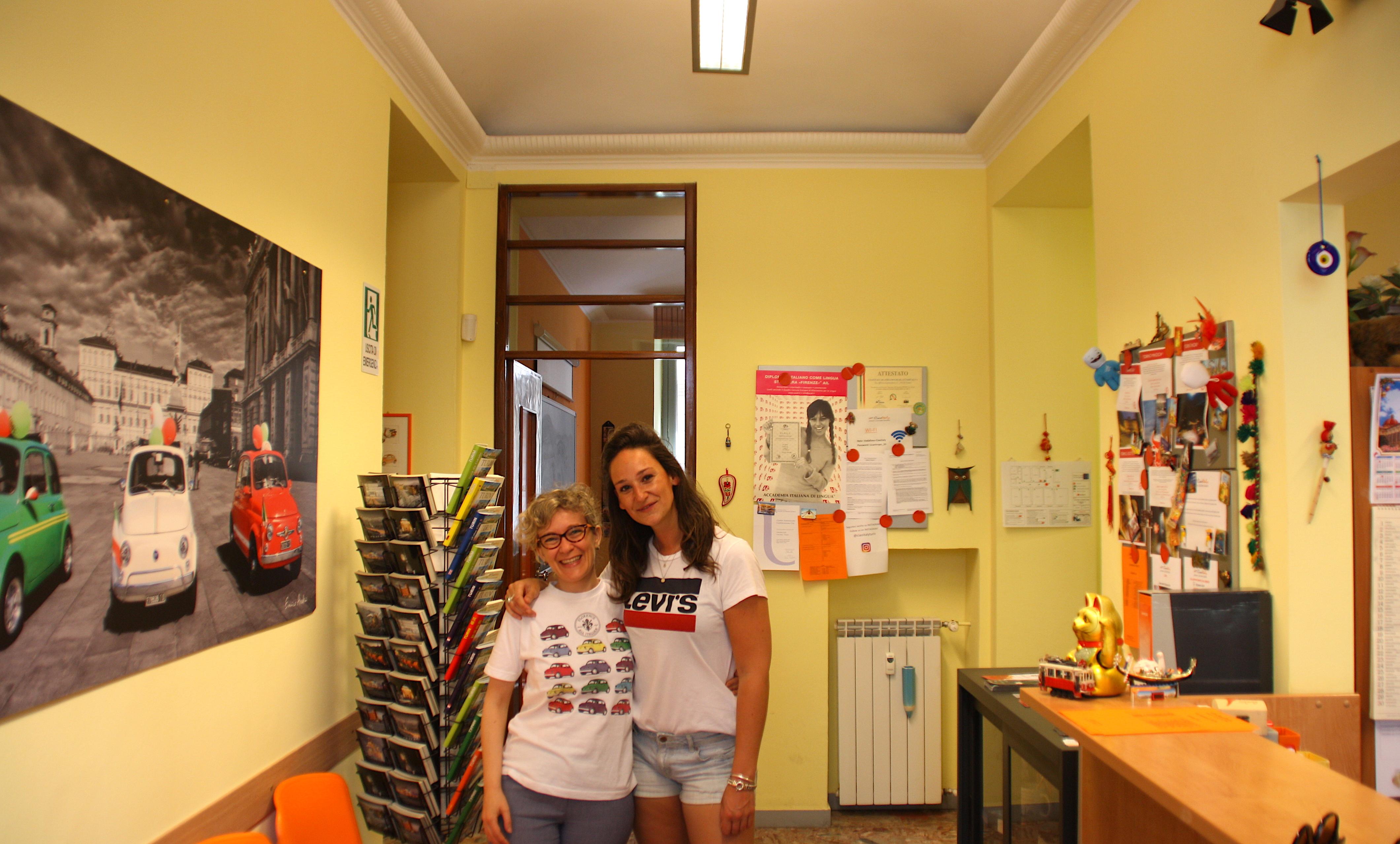 Met Chiara bij Ciao Italy!