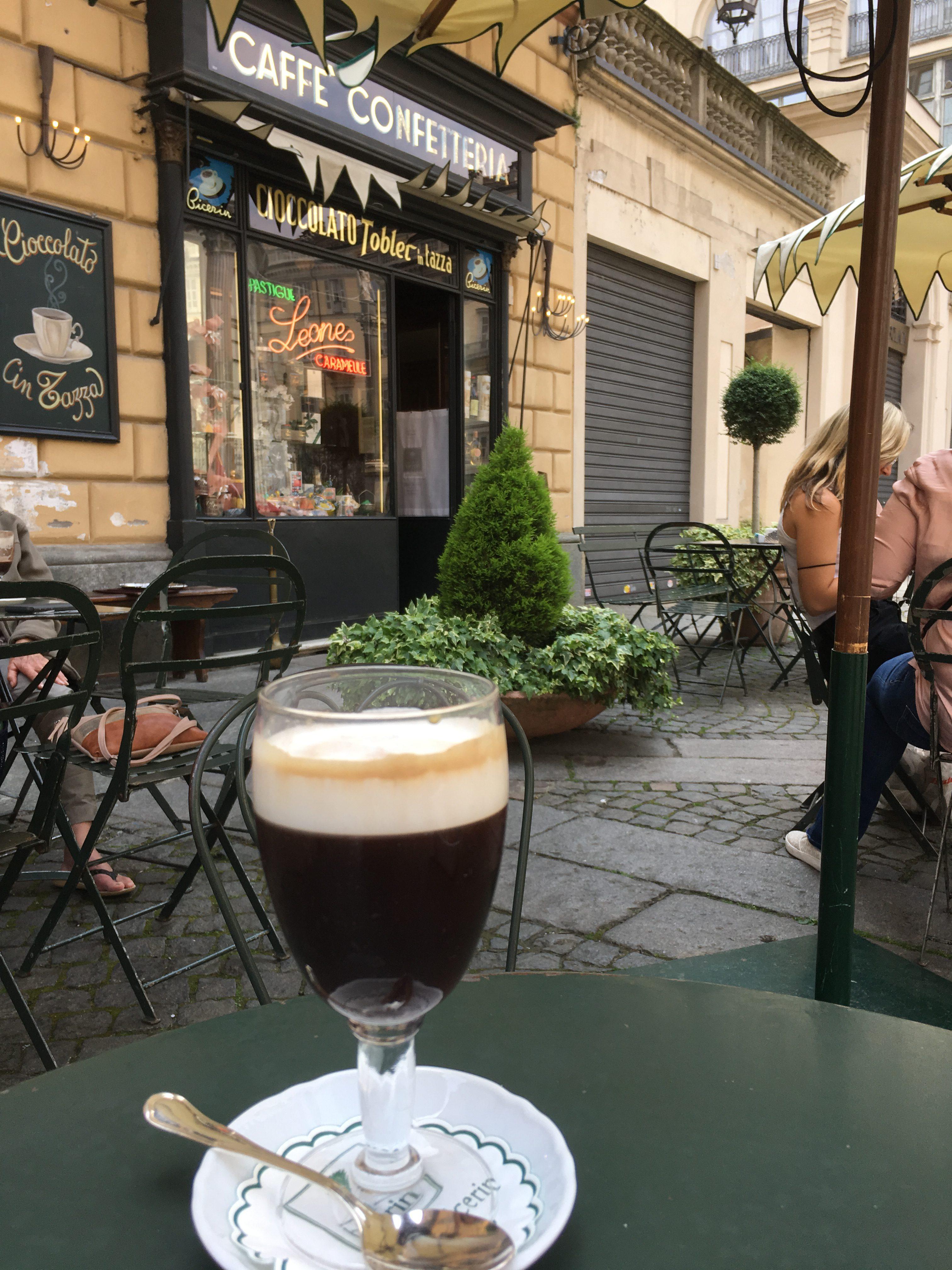 Bicerin drinken in Turijn
